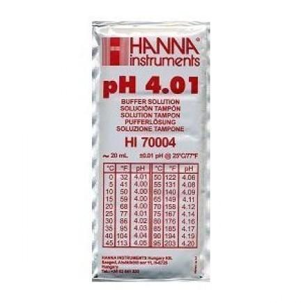 Hanna Sobre calibración ph 4.01